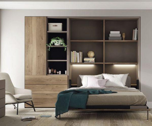 camas abatibles horizontales modernas
