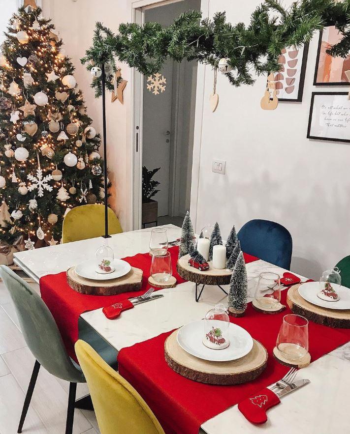 caminos de mesa de navidad originales