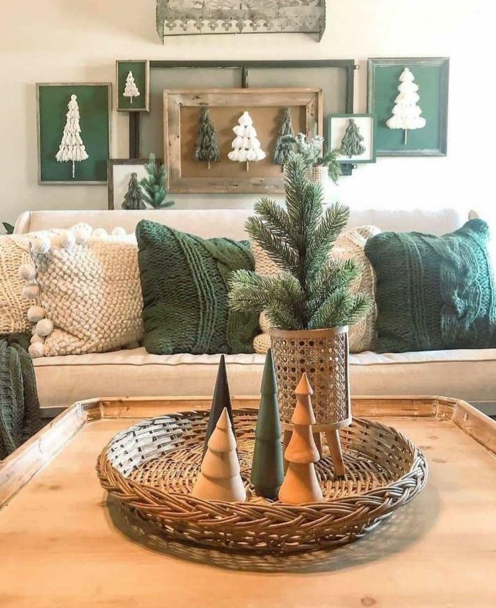 centro de mesa navideño original