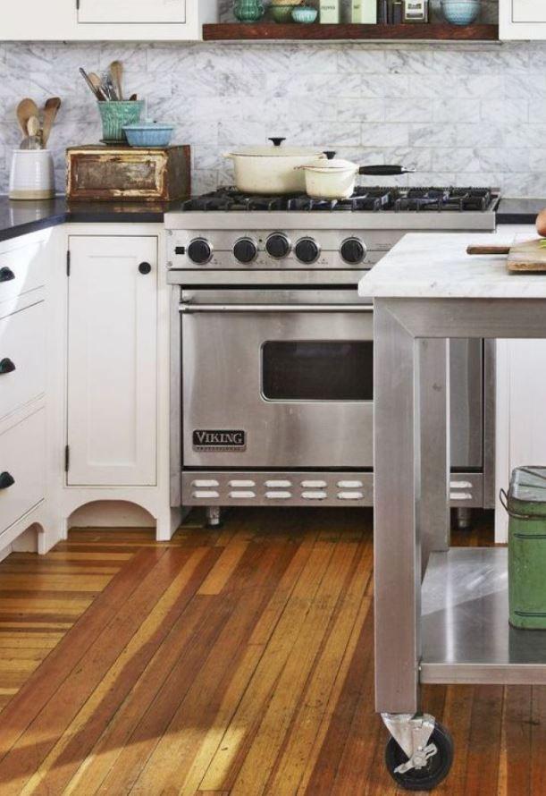 cocina americana estilo industrial