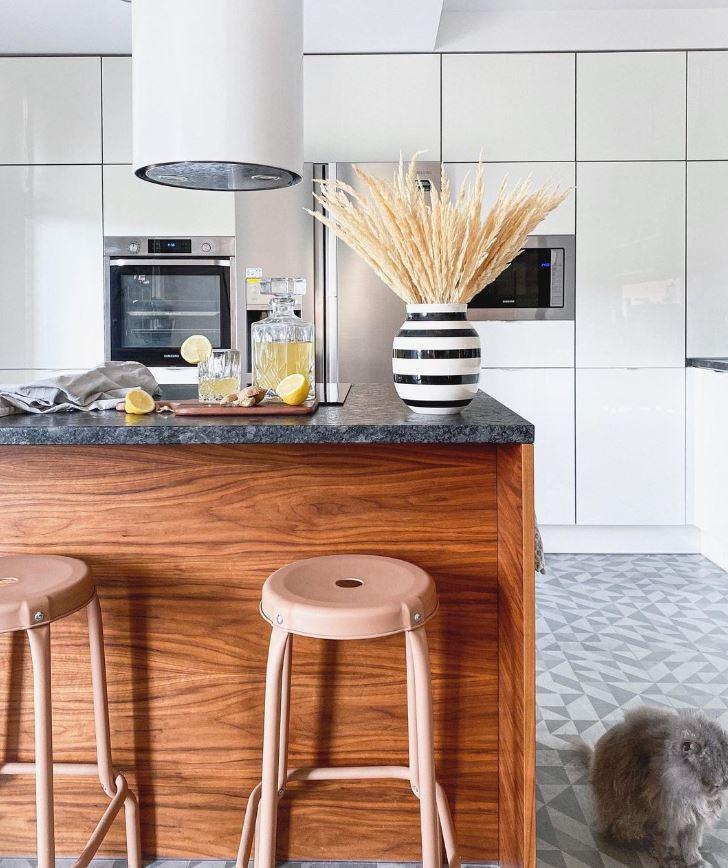 cocinas integrales con isla modernas