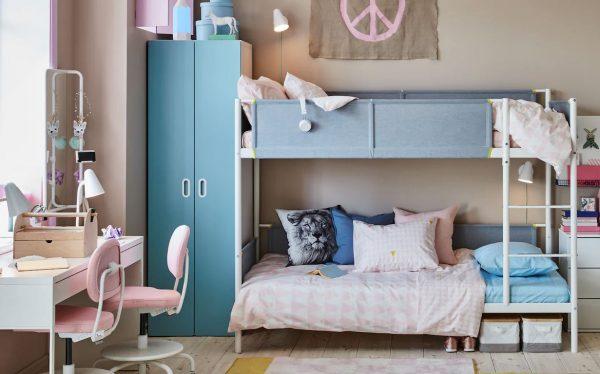 como decorar la habitacion infantil compartida