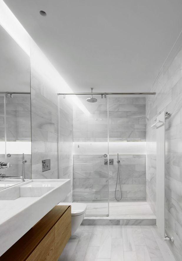 como decorar un baño sin ventanas