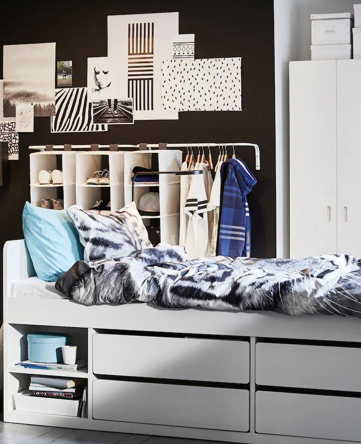 como decorar una habitacion pequeña juvenil