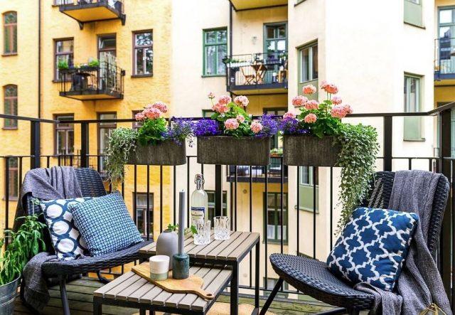 como decorar una pequeña terraza poco presupuesto