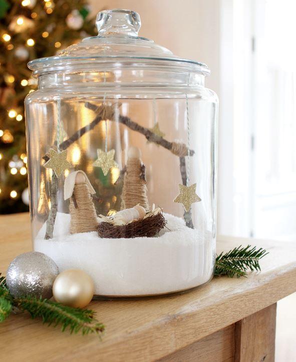 como hacer un belen de navidad original