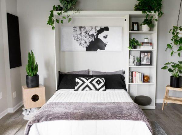 como hacer una cama abatible de matrimonio