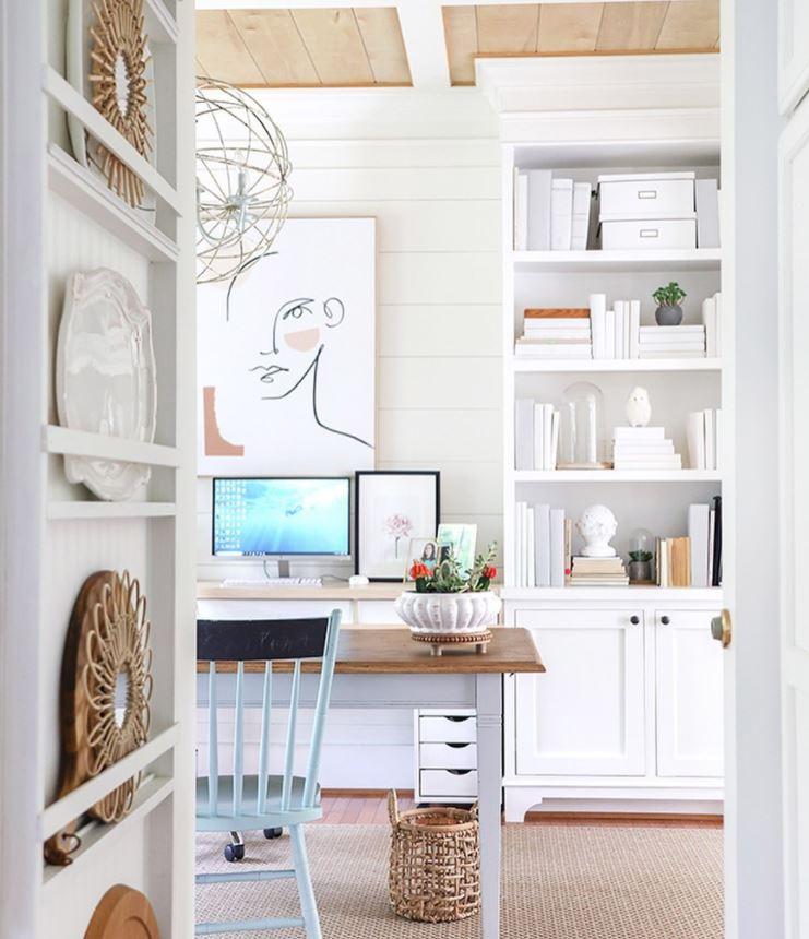 como hacer una oficina en casa