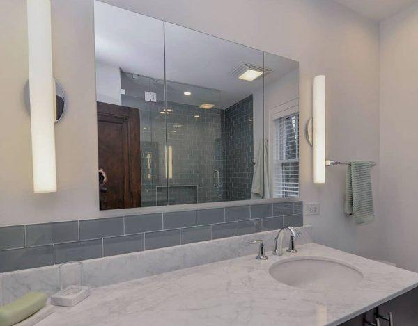 como puedo decorar el espejo del baño