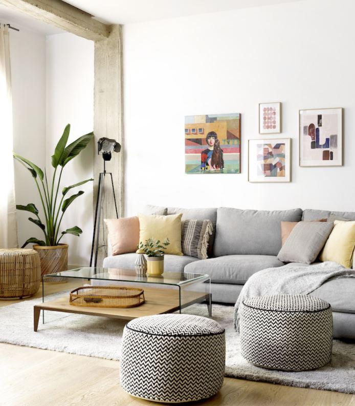 consejos para decorar salones con poca luz