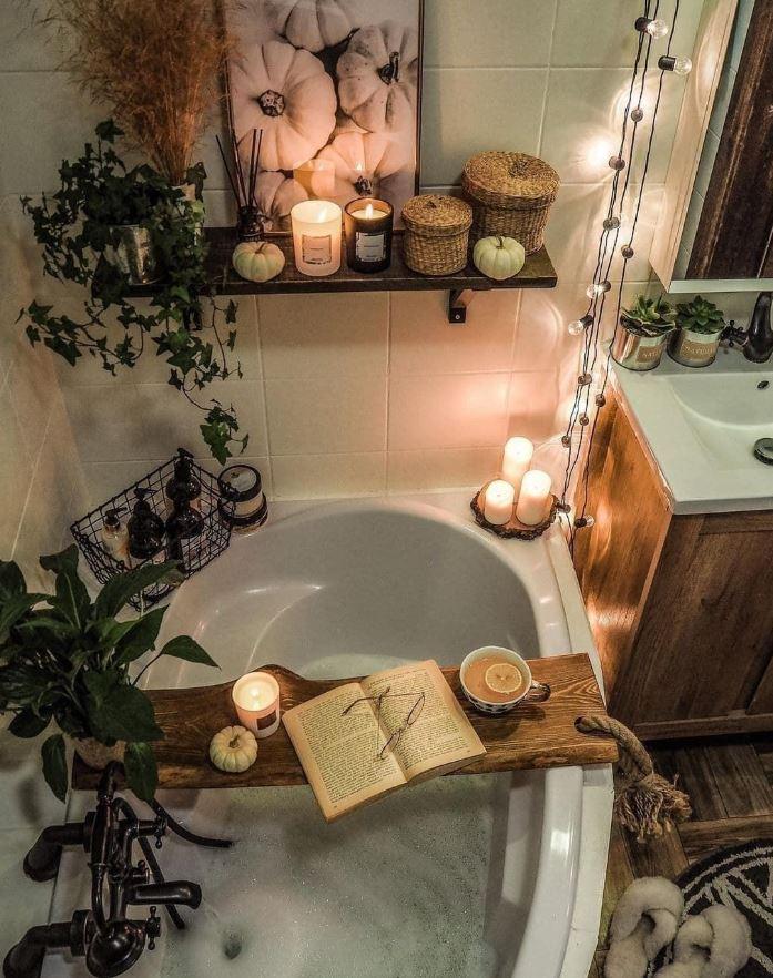 cuarto de baño rusticos fotos