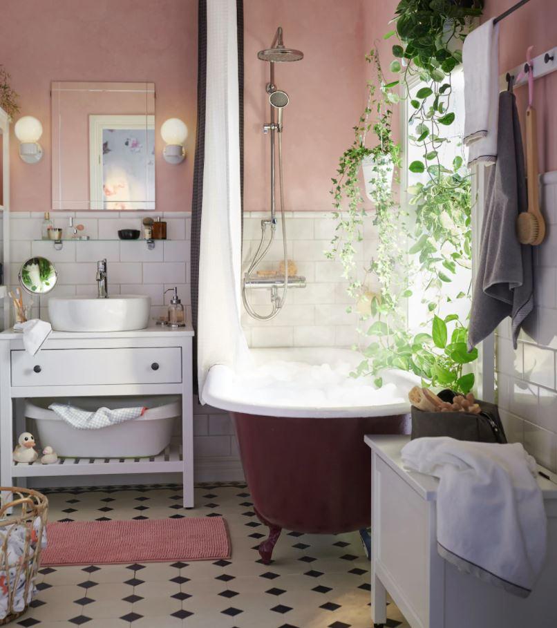 cuarto de baños rusticos