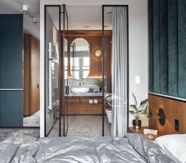 cuartos de baño integrados en el dormitorio