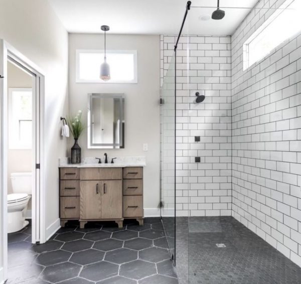 cuartos de baño modernos pequeños