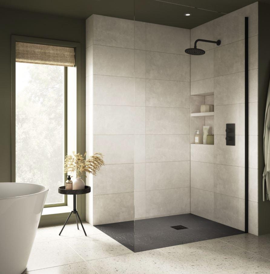 cuartos de baño pequeños modernos con plato de ducha