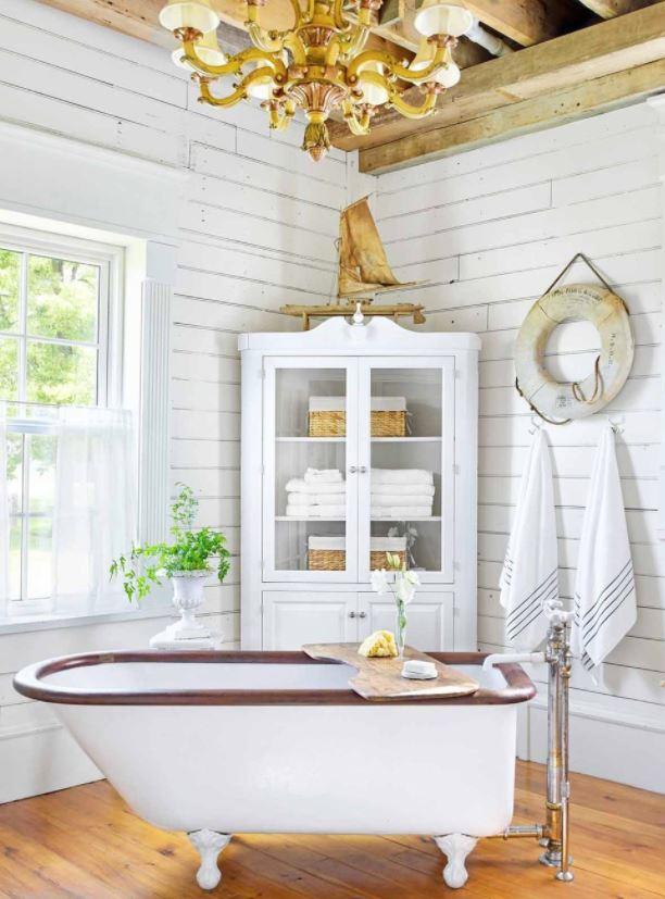 cuartos de baño rusticos de obra