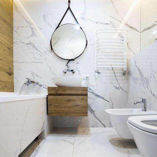 decoracion baños pequeños sin ventanas
