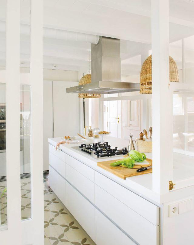 decoracion cocinas blancas