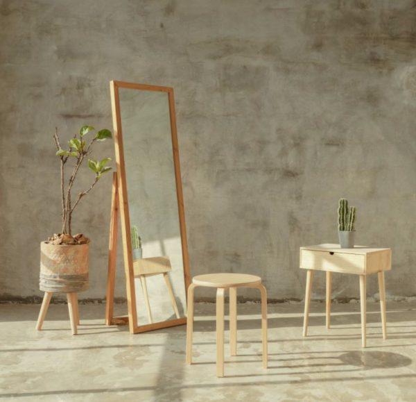 decoracion con espejos en comedor