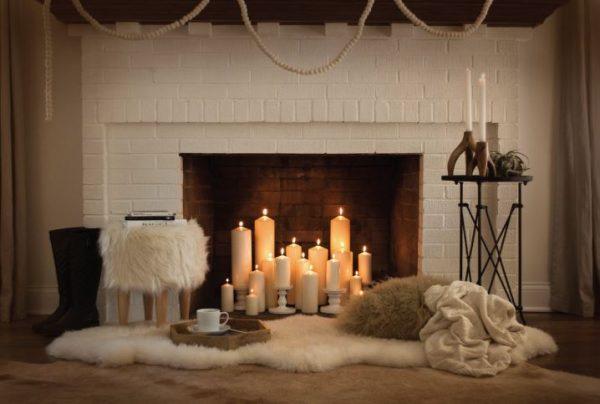 decoracion de chimeneas clasicas