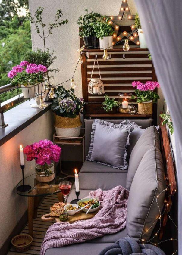 decoracion de terrazas pequeñas exteriores
