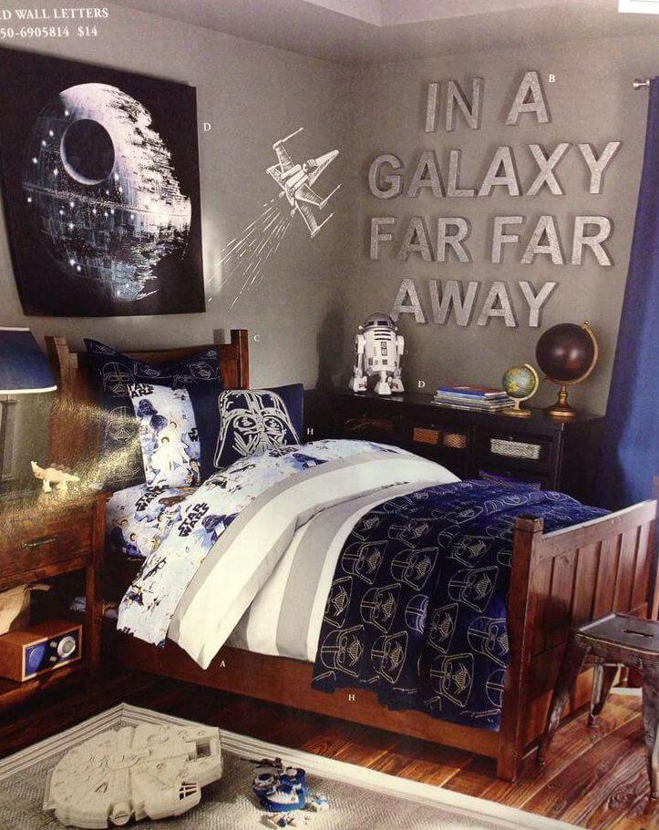 decoracion dormitorio juvenil star wars
