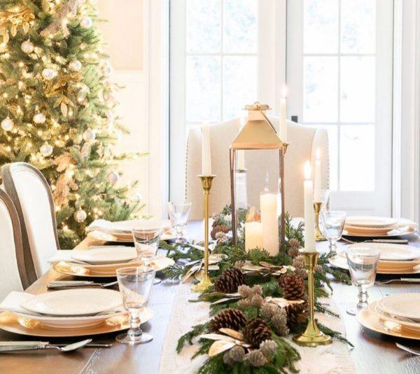 decoracion mesa nochevieja
