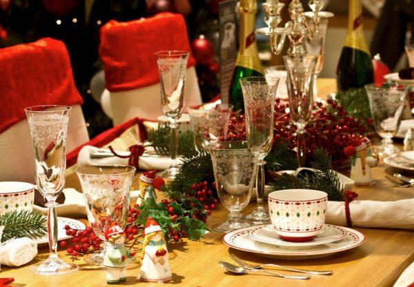 decoracion navidad mesa de centro