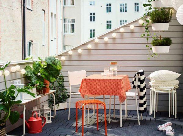 decoracion terrazas pequeñas abiertas