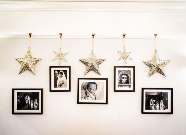 decoraciones de navidad con estrellas