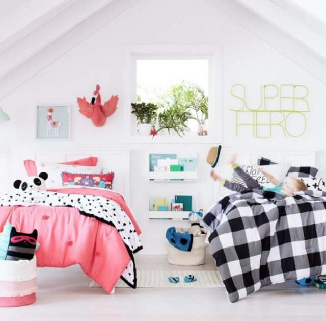 decorar dormitorio compartido niños