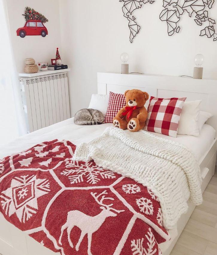 decorar habitacion de navidad