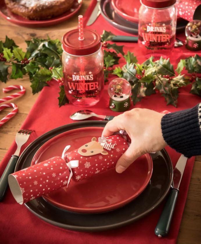 decorar mesa navidad manualidades