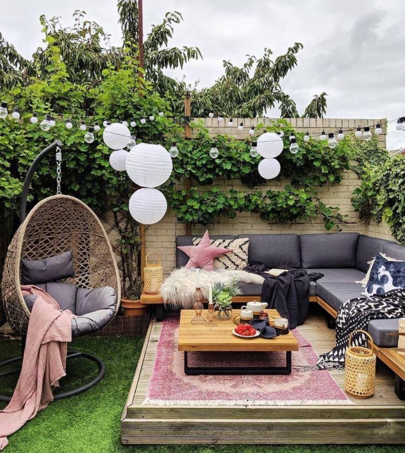 decorar patio interior casa