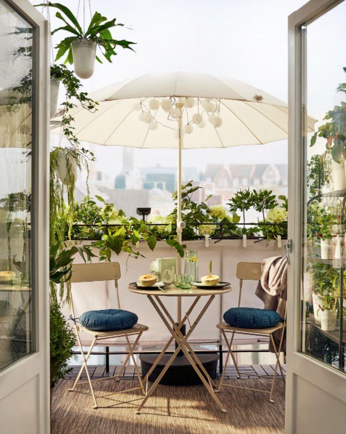 decorar pequeñas terrazas con estilo