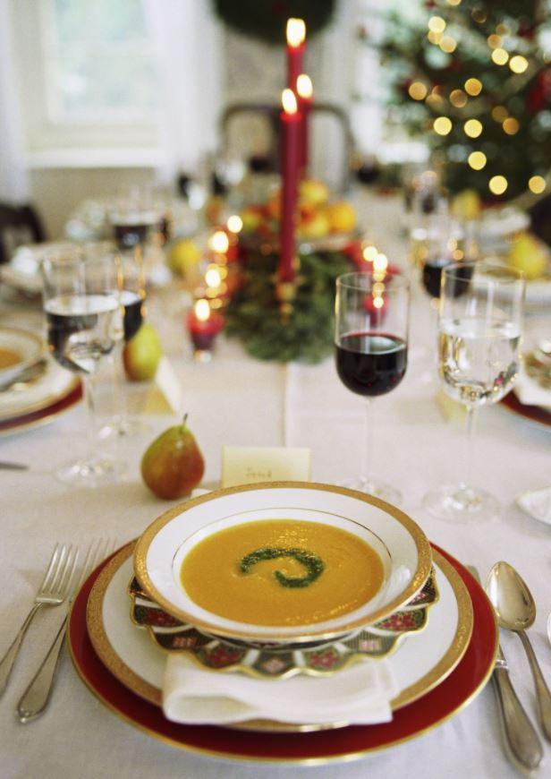 decorar platos para navidad