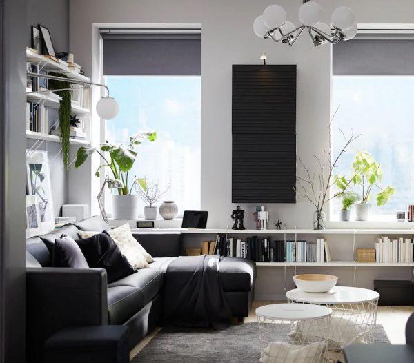 decorar salon muebles oscuros decorarcongusto
