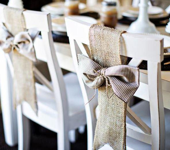 decorar sillas navideñas