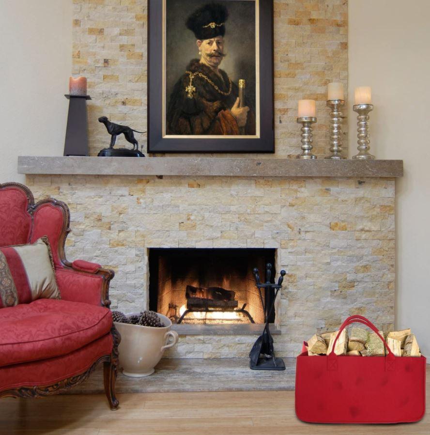 decorar un salón con chimenea clásica