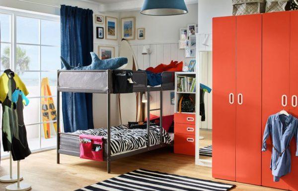 diseño habitaciones juveniles con litera