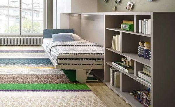 dormitorio cama abatible