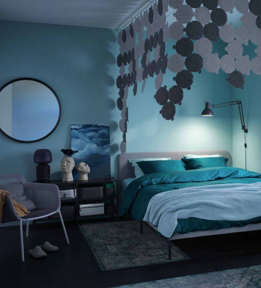 dormitorio oscuro decoración
