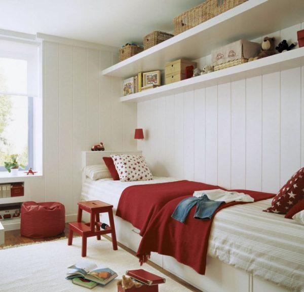 dormitorios de dos camas clásicas