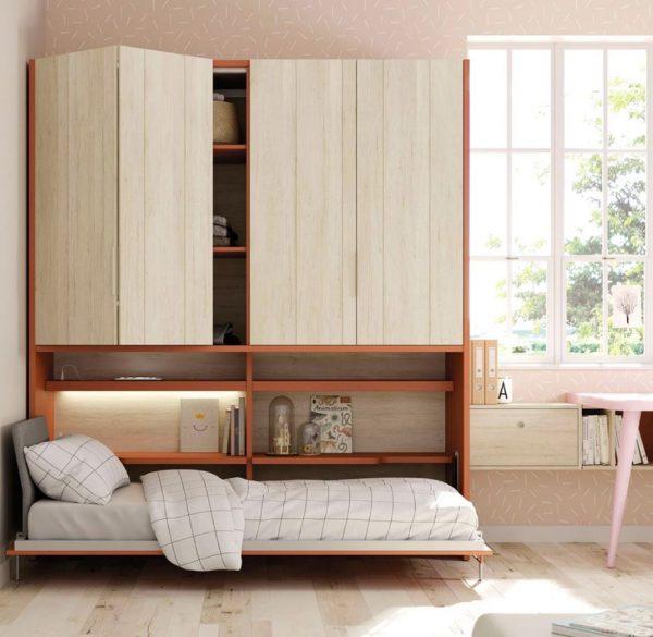 dormitorios plegables habitaciones pequeñas