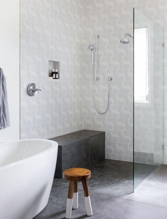 ducha sin plato suelo