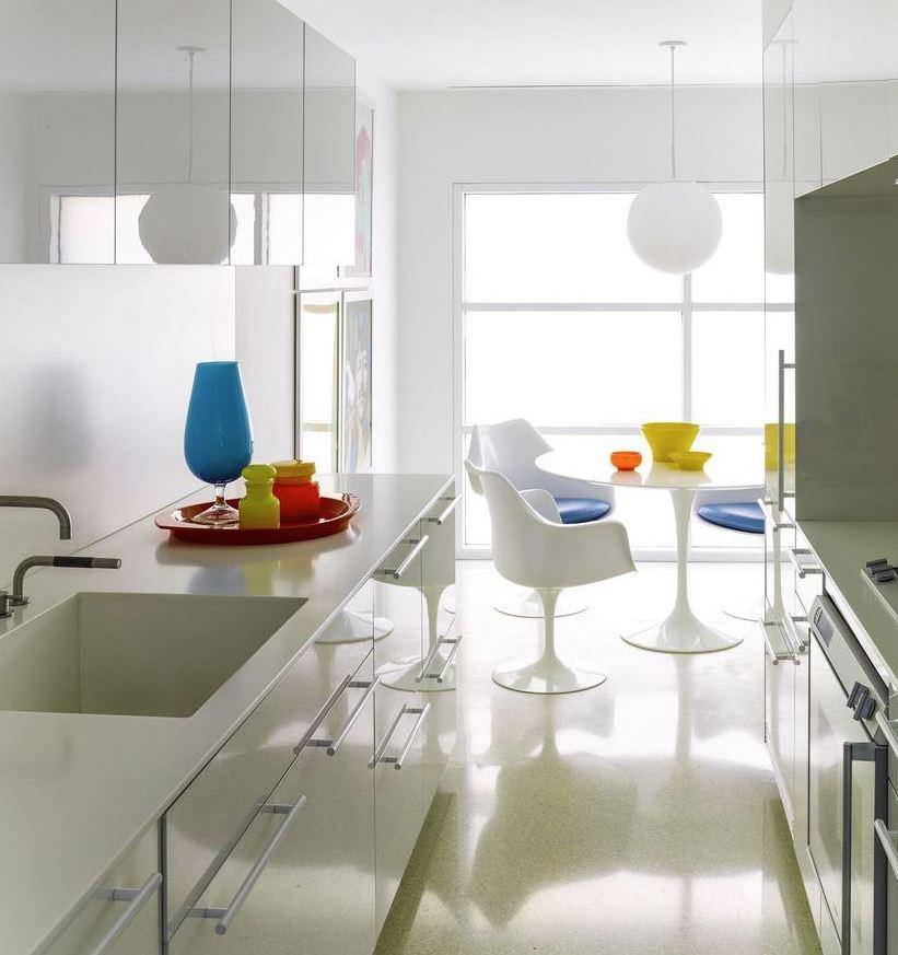 encimera blanca cocina blanca