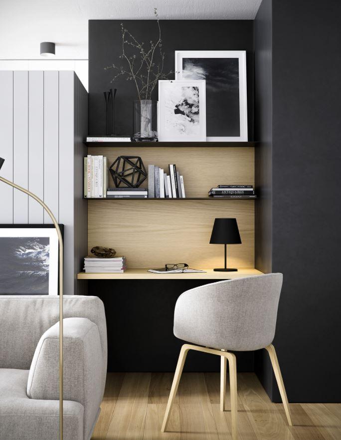 escritorios modernos para salón