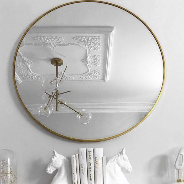 espejo redondo original