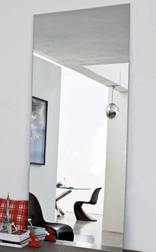 espejo sin marcos para salón