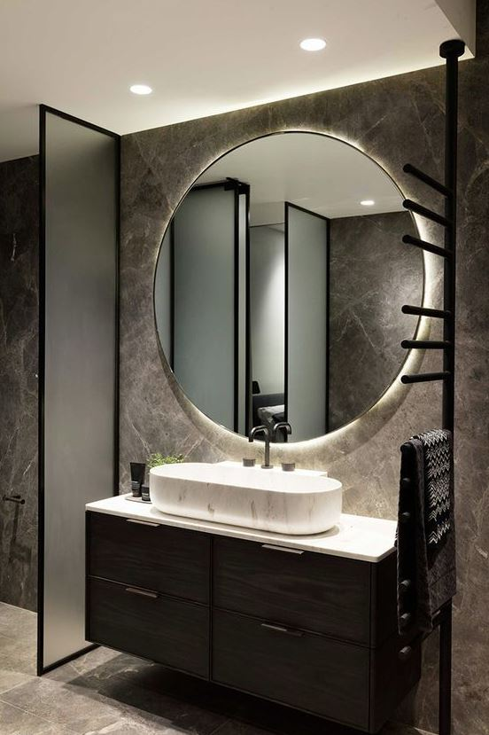 espejos de baño con luz led incorporada